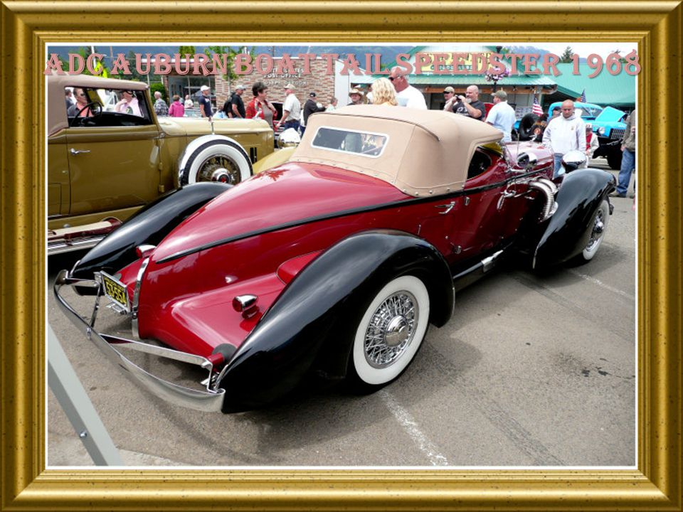Adc auburn boat tail speedster 1968