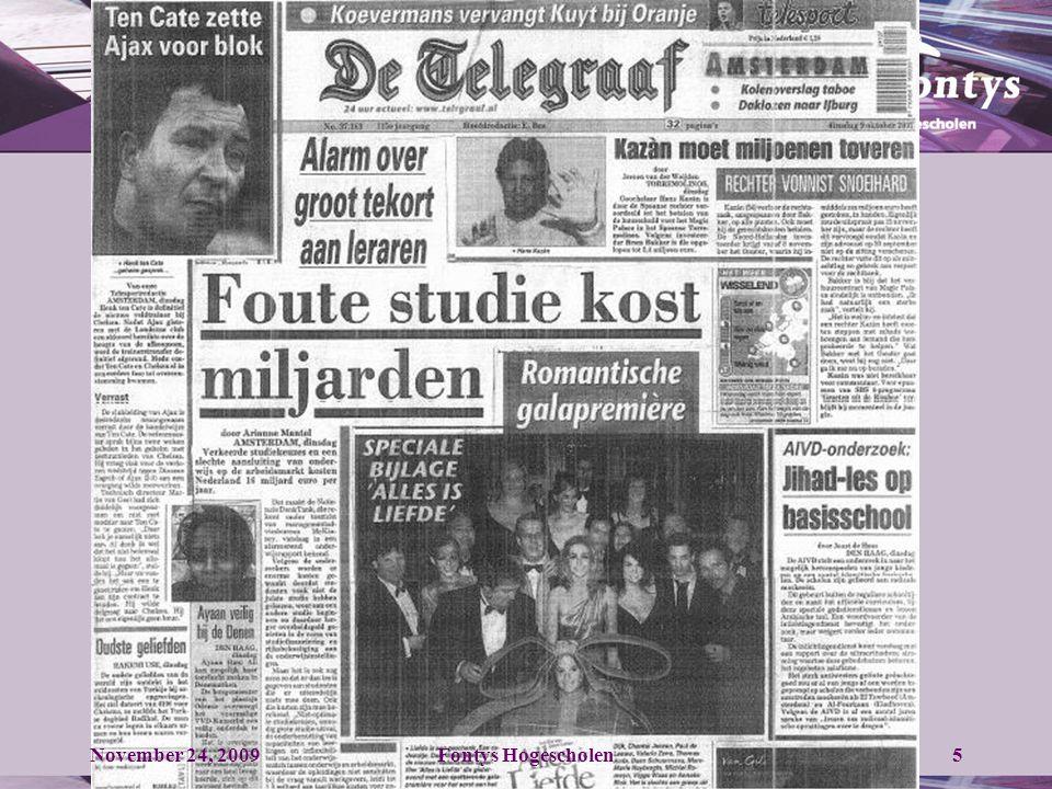 November 24, 2009Fontys Hogescholen36 7.