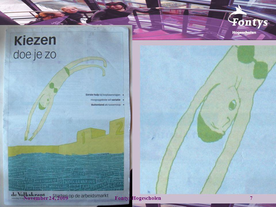November 24, 20098Fontys Hogescholen