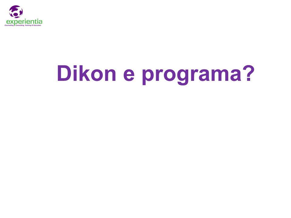 Dikon e programa?