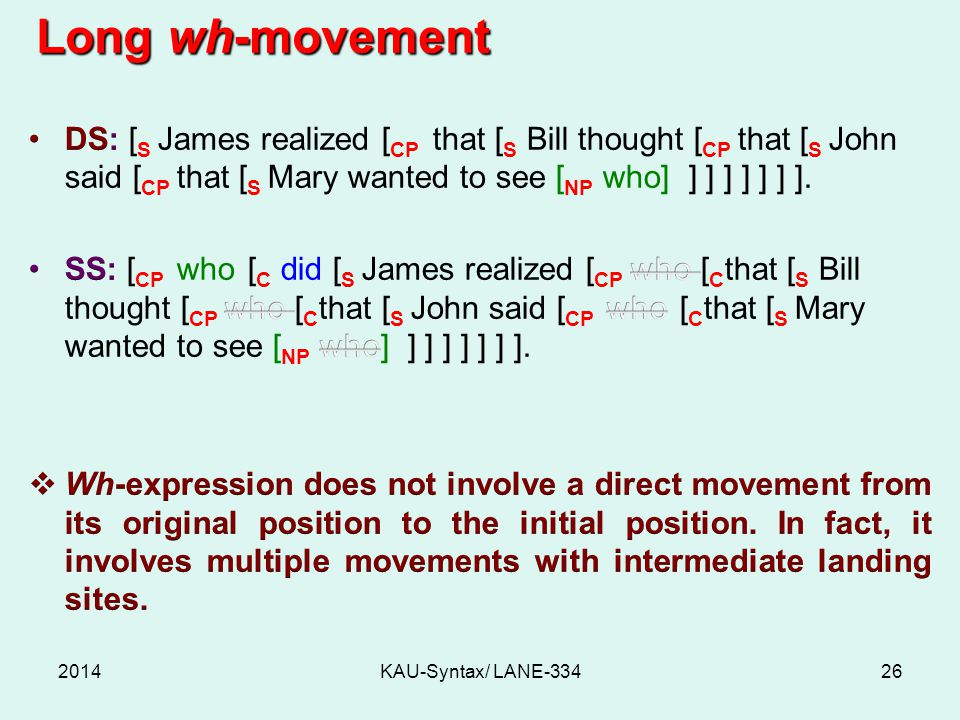 2014KAU-Syntax/ LANE-33426 Long wh-movement