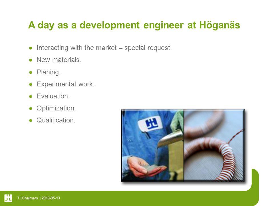 Working at Höganäs ●Global.●Stimulating. ●Challenging.
