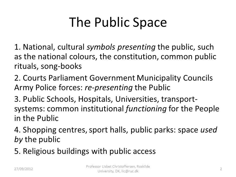 The Public Space 1.
