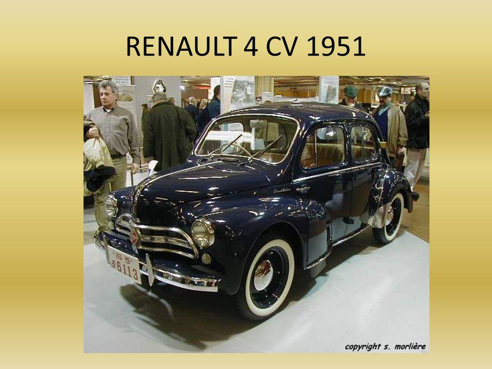 PEUGEOT 203 - 1951