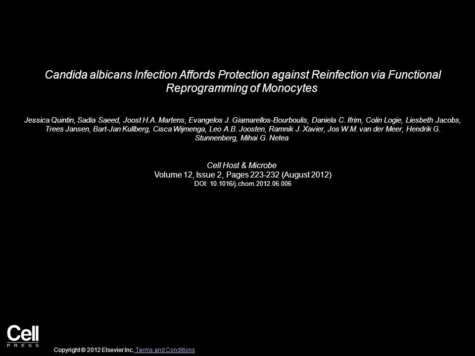Figure 1 Cell Host & Microbe 2012 12, 223-232DOI: (10.1016/j.chom.2012.06.006) Copyright © 2012 Elsevier Inc.