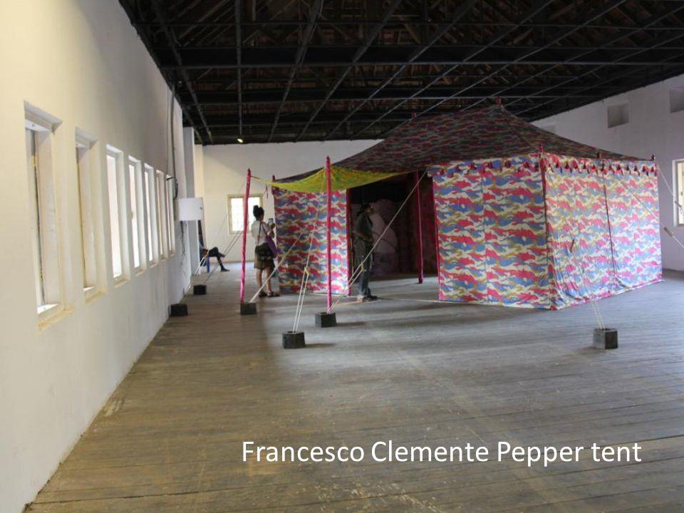 Francesco Clemente Pepper tent
