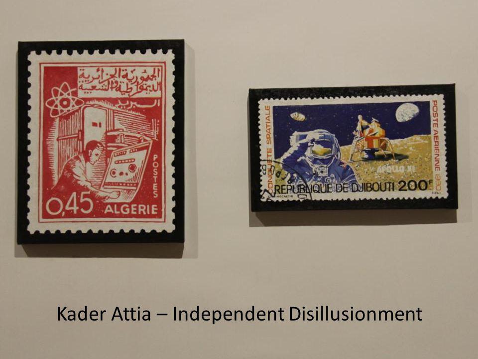 Kader Attia – Independent Disillusionment