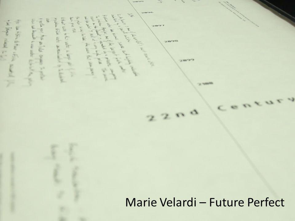Marie Velardi – Future Perfect