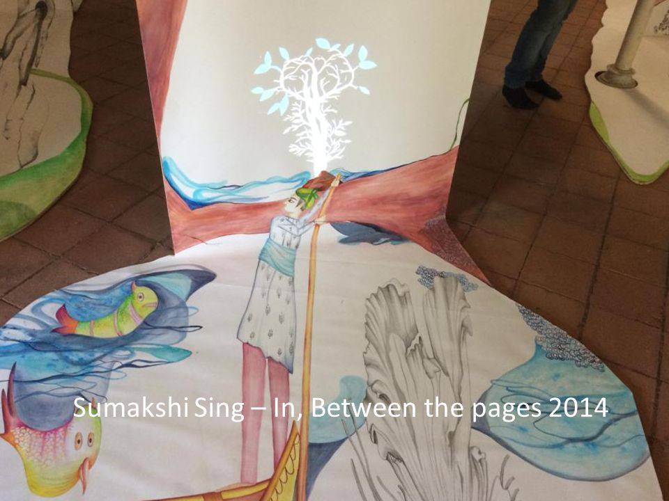 Sumakshi Sing – In, Between the pages 2014