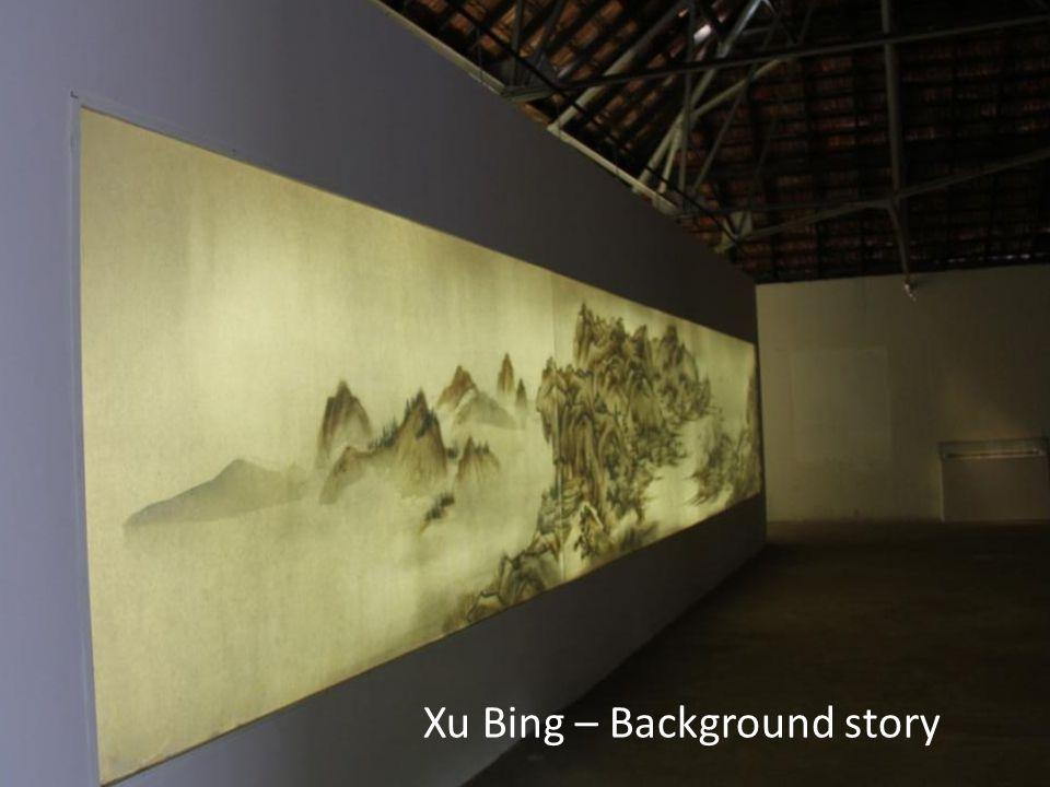 Xu Bing – Background story
