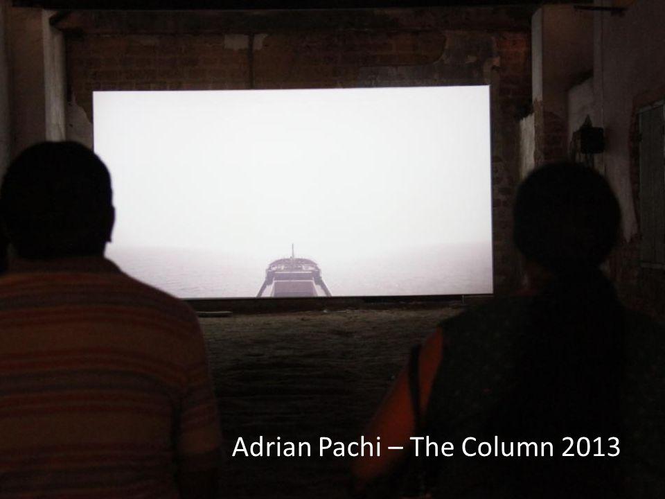 Adrian Pachi – The Column 2013