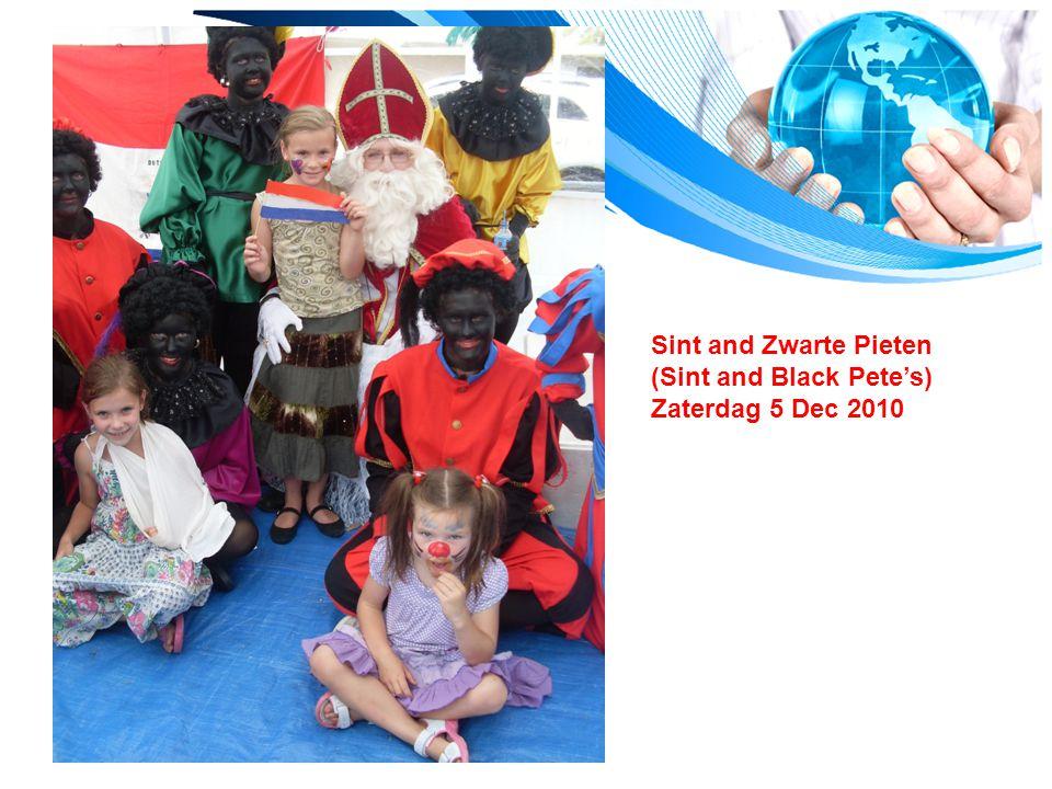Sint and Zwarte Pieten (Sint and Black Pete's) Zaterdag 5 Dec 2010