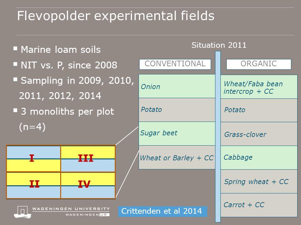  Marine loam soils  NIT vs.