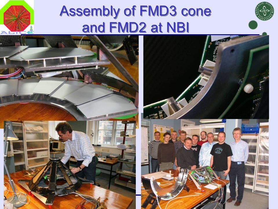 Danish Teachers, CERN, 23 Oct 2007Børge Svane Nielsen, NBI34 Assembly of FMD3 cone and FMD2 at NBI