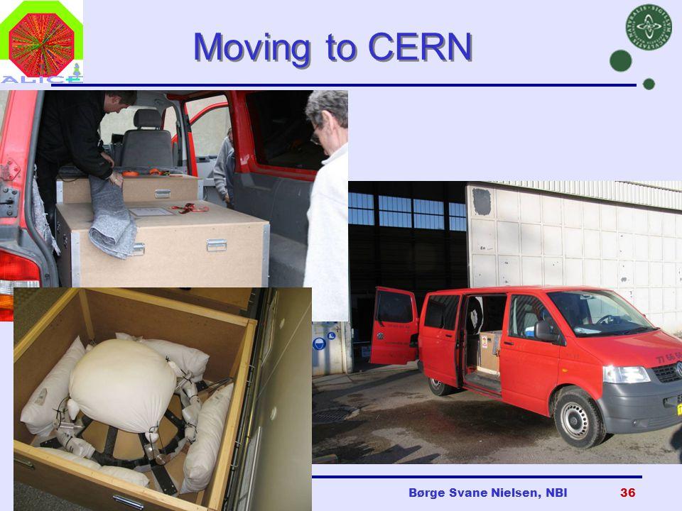 Danish Teachers, CERN, 23 Oct 2007Børge Svane Nielsen, NBI36 Moving to CERN