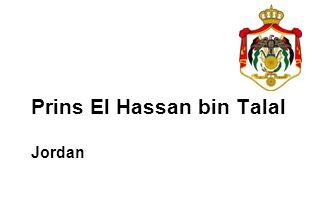 Prins El Hassan bin Talal Jordan
