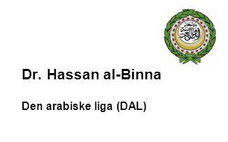 Dr. Hassan al-Binna Den arabiske liga (DAL)