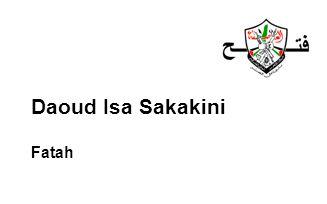 Daoud Isa Sakakini Fatah