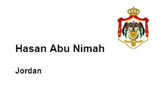 Hasan Abu Nimah Jordan