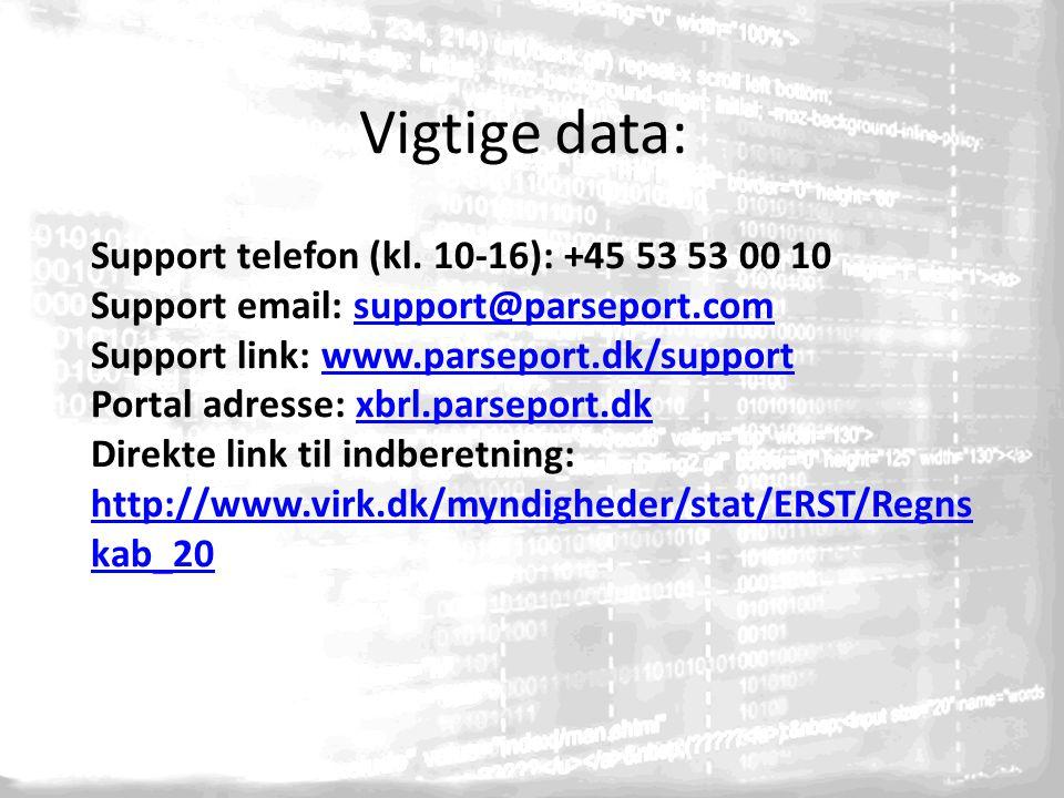 Support telefon (kl.