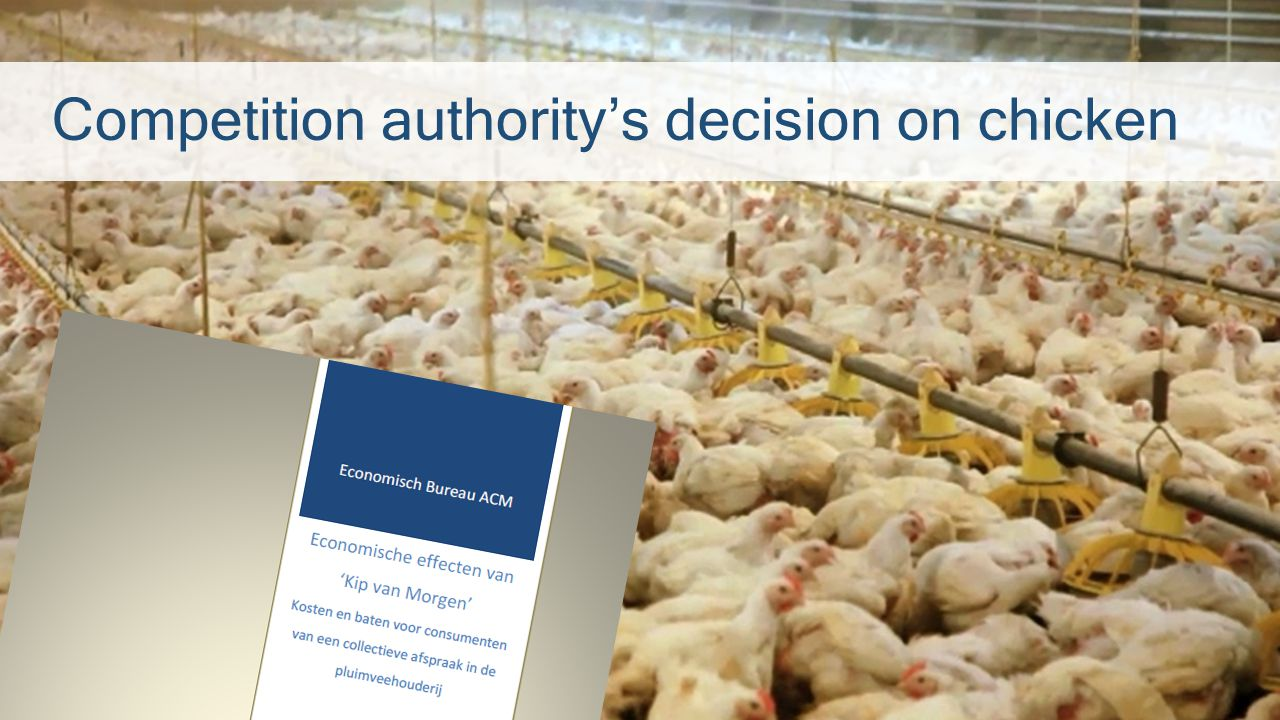 Competition authority's decision on chicken