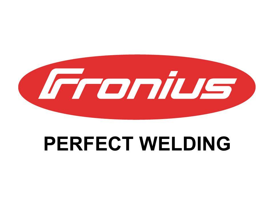 PERFECT WELDING © Fronius Titan das schwerste Leichtmetall