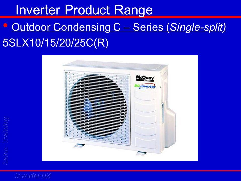 Inverter Product Range Outdoor Condensing C – Series (Single-split) 5SLX10/15/20/25C(R)