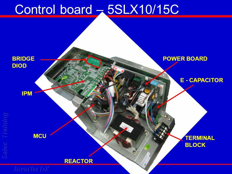 Control board – 5SLX10/15C BRIDGE DIOD E - CAPACITOR REACTOR TERMINAL BLOCK IPM POWER BOARD MCU