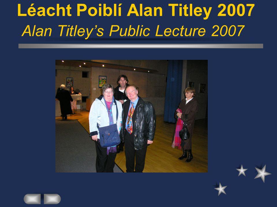 Imeacht Threas-Rúnaí 2006 Departure of Third-Secretary 2006