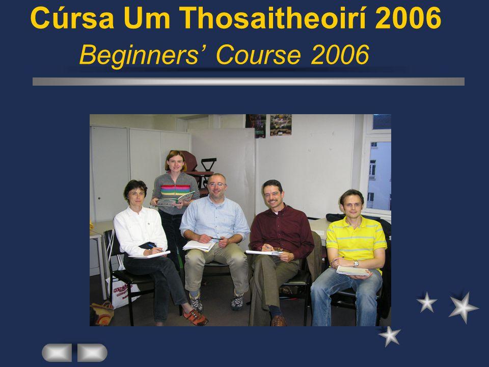 Ranganna Gaeilge / Irish Classes Gá le ranganna / Need for classes Léibhéil Éagsúla / Various Levels Múinteoirí / Teachers