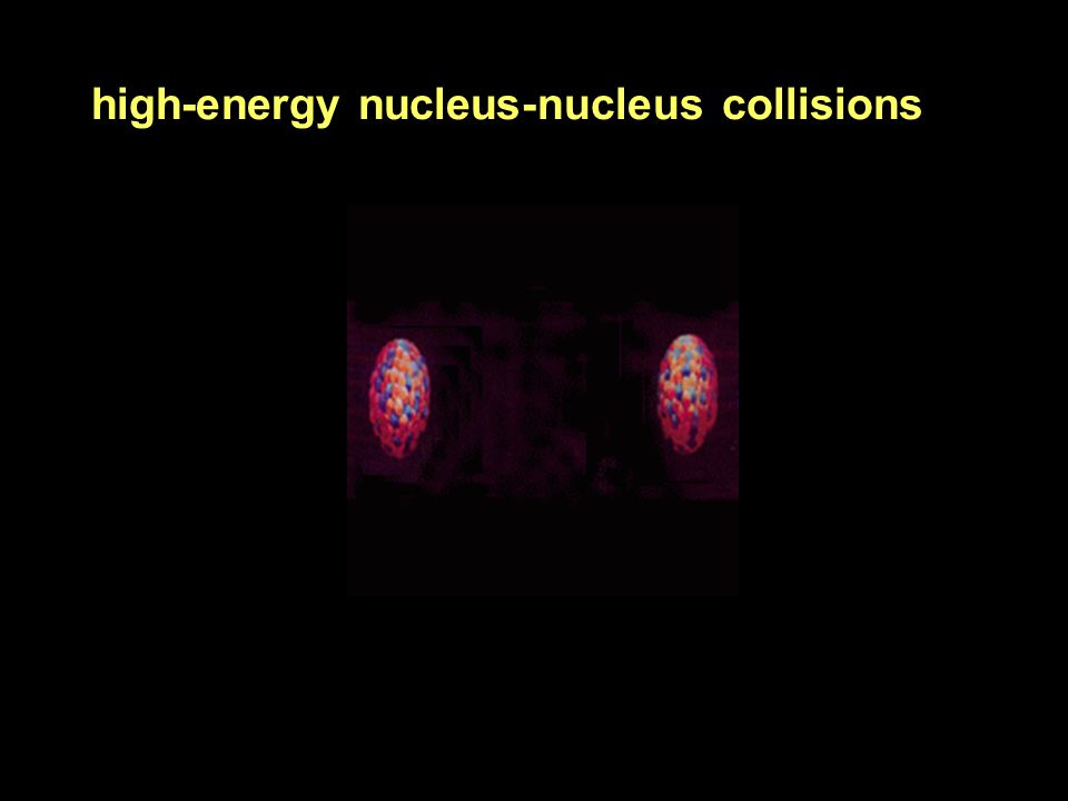 high-energy nucleus-nucleus collisions