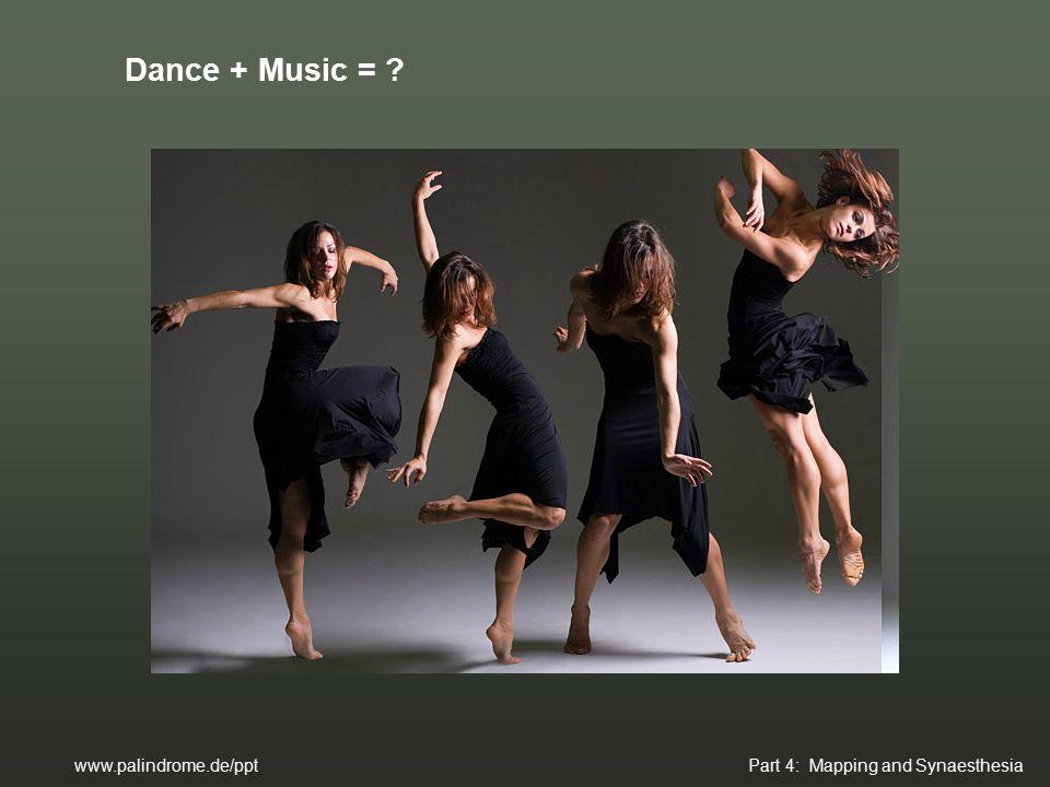 Dance + Music = ?