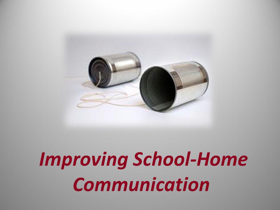 Four Ps of School-Home Communication P ositive P ersonalized P roactive P artnership