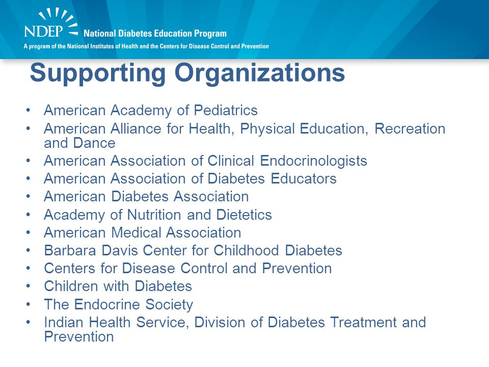 Supporting Organizations Cont'd.