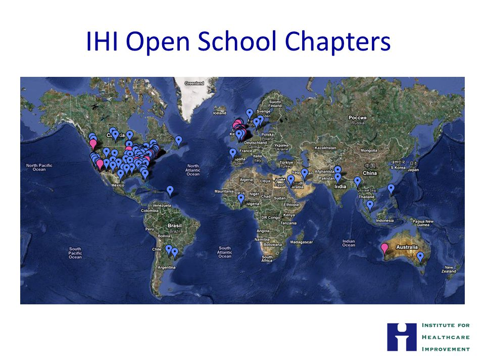 IHI Open School Chapters