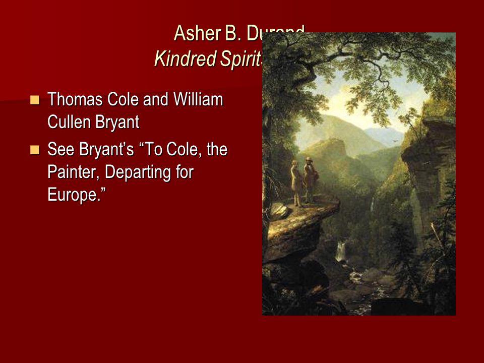 Asher B. Durand, Hudson River Scene (1846)
