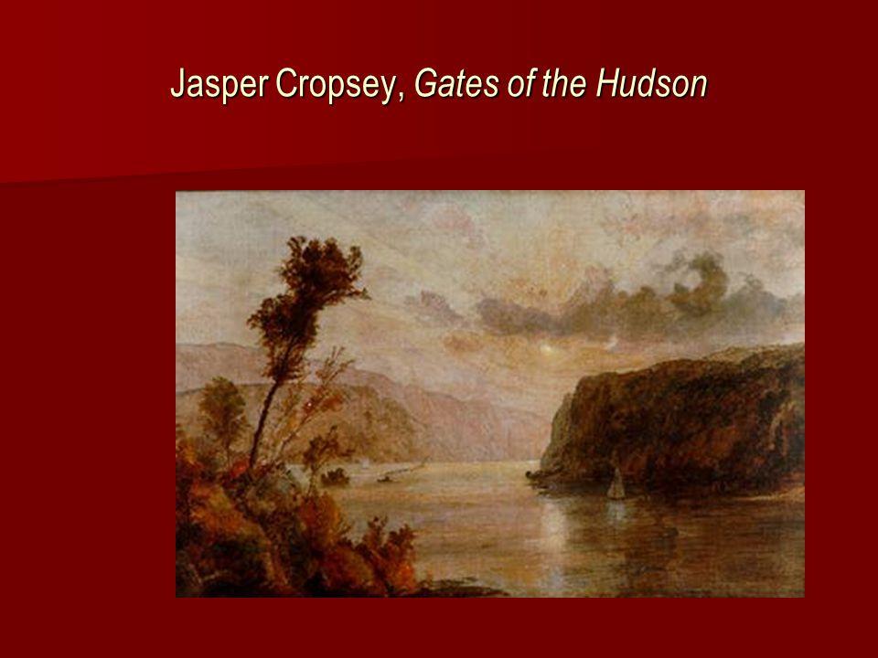 Jasper Cropsey, Palisades at Sunset (Spyten Duyvil)