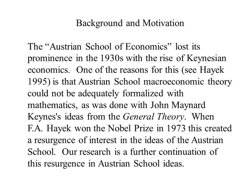 Generalized Notes on the Austrian School of Economics 1)The Austrian School is not an argument for laissez-faire capitalism.