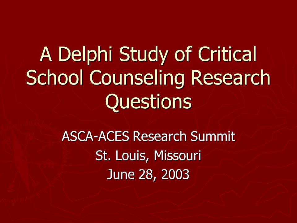 National Center for School Counseling Outcome Research John Carey Carey Dimmitt http://www.umass.edu/school counseling/