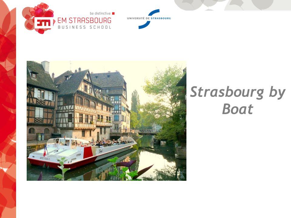 Strasbourg by Boat