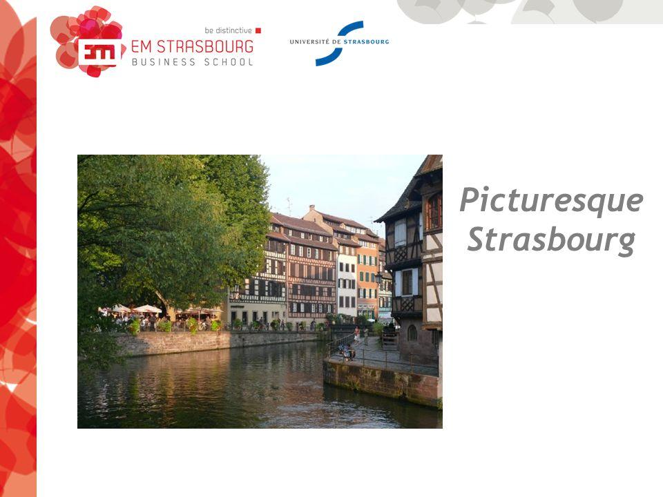 Picturesque Strasbourg