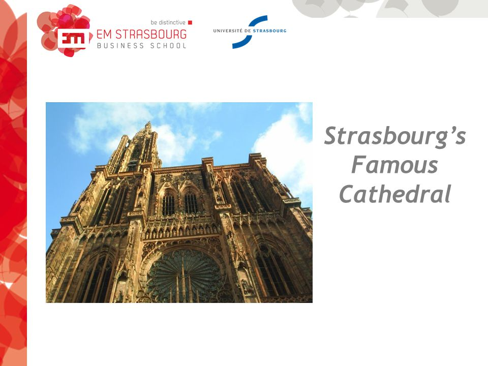Strasbourg's Famous Cathedral