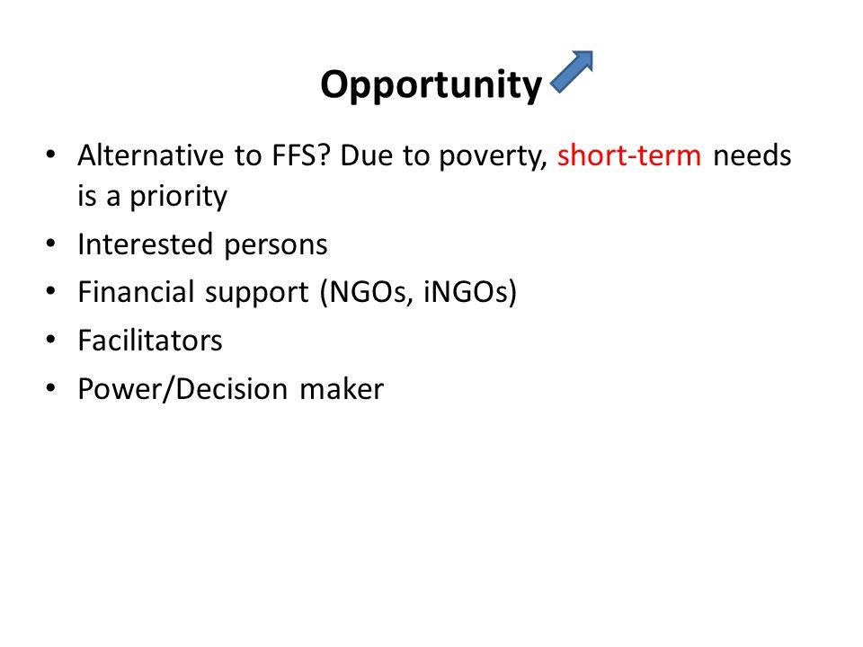 Opportunity Alternative to FFS.