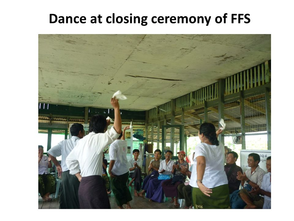 Dance at closing ceremony of FFS