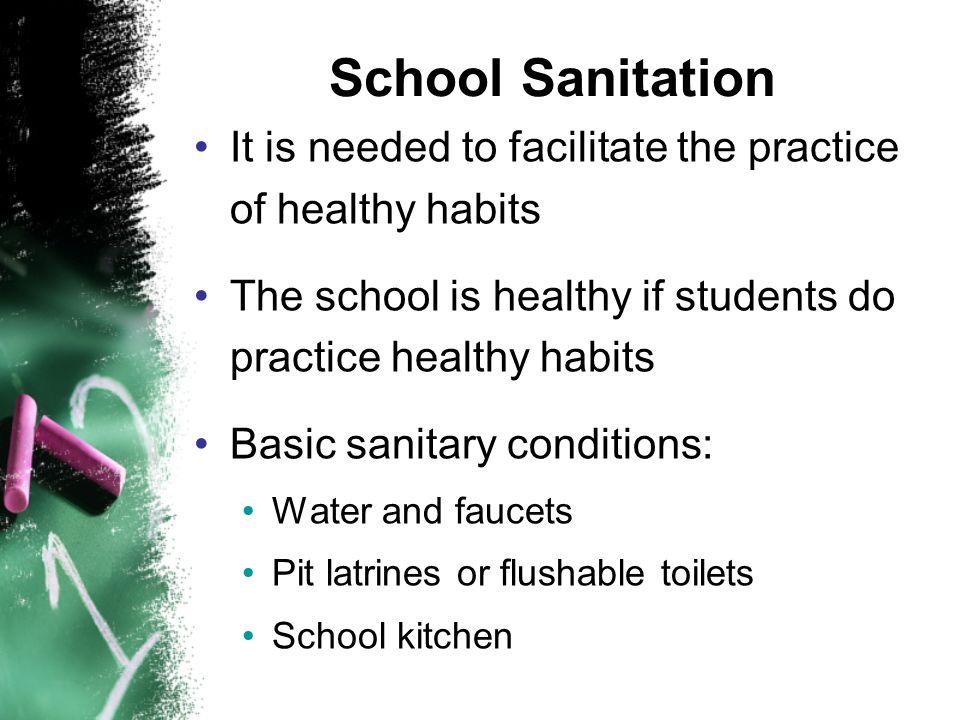 School Sanitation School rain catching systems