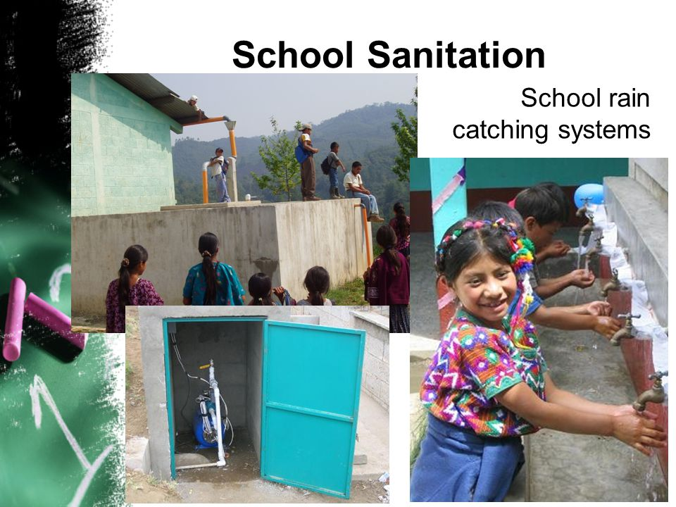 School Sanitation School wells