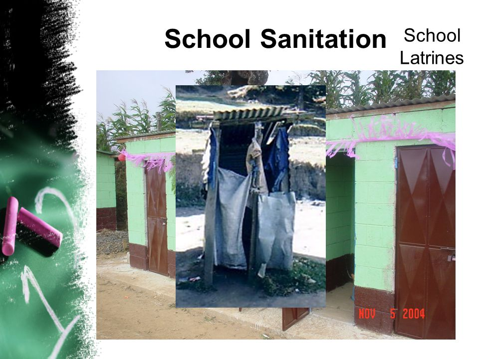 School Sanitation School Latrines
