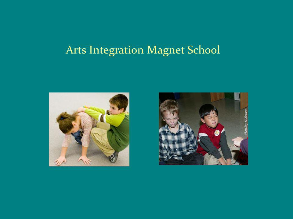 What is an Arts Integrated School.