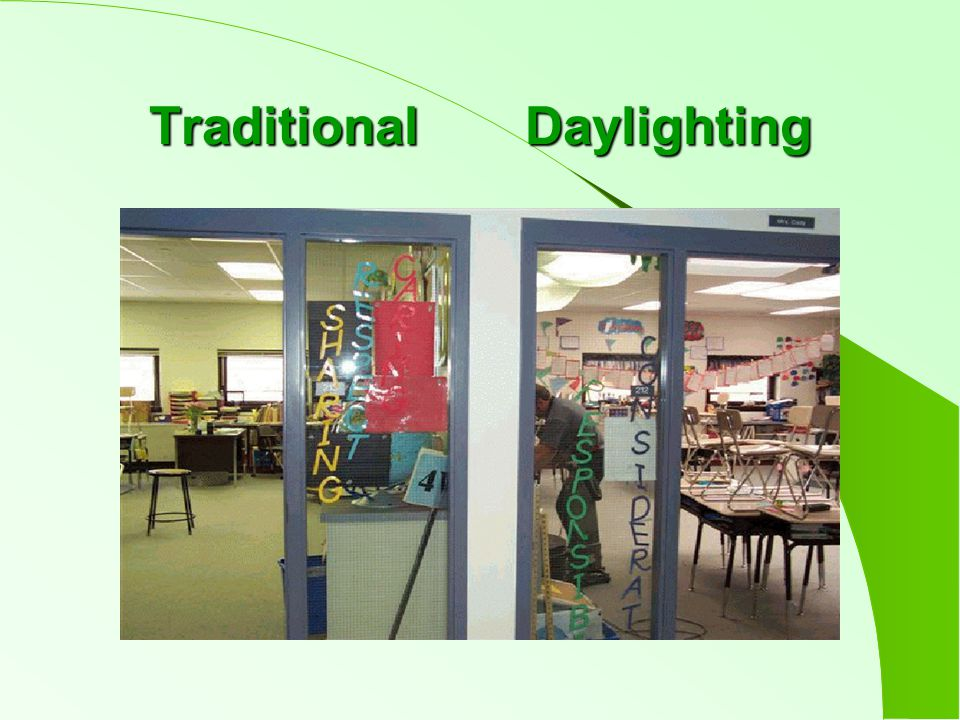 Traditional Daylighting