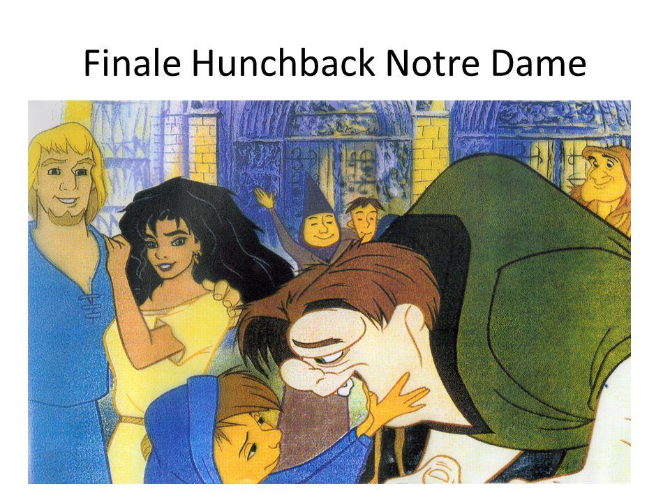 Finale Hunchback Notre Dame